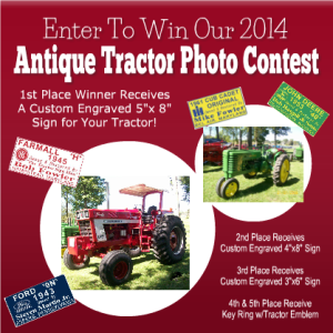 Antique Tractor Photo Contest – 2014
