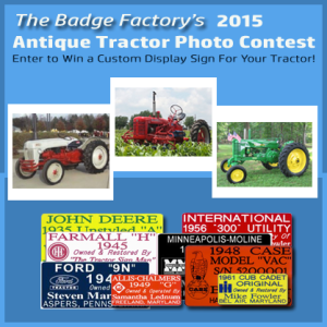 Antique Tractor Photo Contest 2015