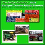 2016 Annual Antique Tractor Photo Contest
