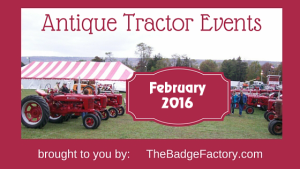 February 2016 Tractor Shows & Events