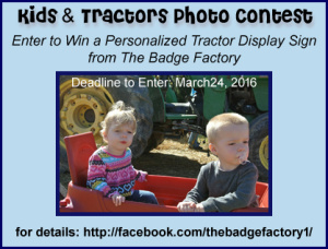 2016 Kids & Tractors Photo Contest