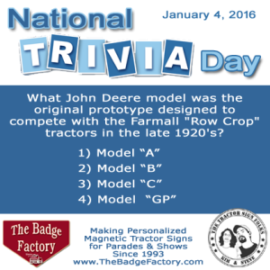 Tractor Trivia!!