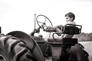 The Badge Factory's Kid's & Tractors Photo Contest 2016