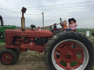 2016 Kid's & Tractors Photo Contestant - Sheppard