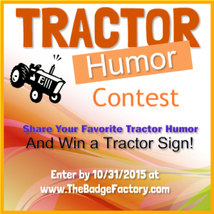 Tractor Humor Contest