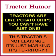 Tractor Humor Signs