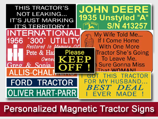 Assortment of signs